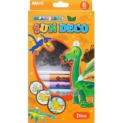 """Набір для дитячої творчості Amos Sun Deco """"Діно"""" SD10P6-D"""
