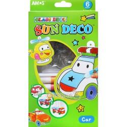 """Набір для дитячої творчості Amos Sun Deco """"Машина"""" SD10P6-С"""