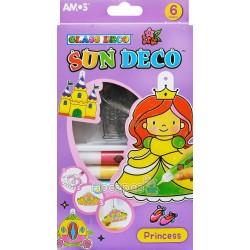 """Набір для дитячої творчості Amos Sun Deco """"Принцеса"""" SD10P6-Р"""