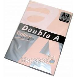 Бумага цветная Double А 5660 пастельная розовая
