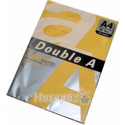 Бумага цветная Double А 1073 пастельная оранжевая