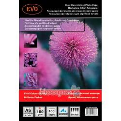 Глянцевий фотопапір EVO GP 180 A6/100