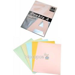 Бумага цветная Doubl А ассорти 0526
