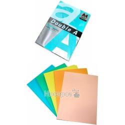 Бумага цветная Doubl А4 ассорти насыщенные