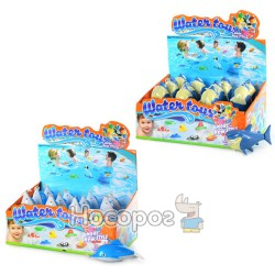 Игрушка водоплавающая YS 1378 2-7Н (2 вида, 12 шт в коробке) (144)