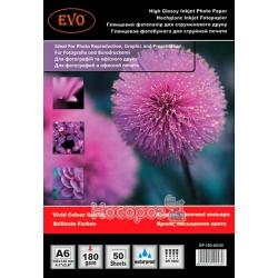 Глянцевая фотобумага EVO GP 180 A6 / 50