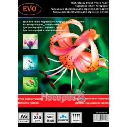 Глянцевая фотобумага EVO GP-230-A6 / 500