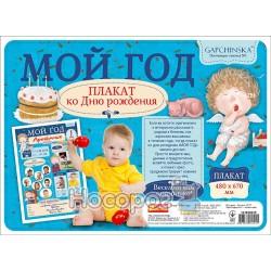 """Плакат Ranok-Creative - """"Гапчинська"""" Мій перший рік 13183003Р"""