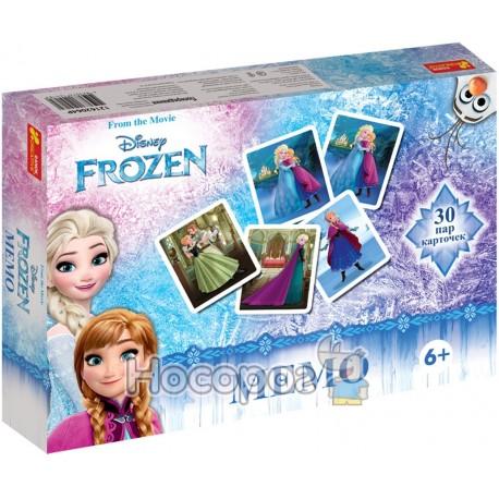 """Фото Игра настольная """"Мемо. Frozen"""" 12162064Р"""