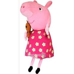 Мягкая игрушка Peppa Pig - Пеппи с игрушкой