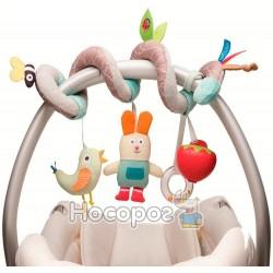 Розвиваюча спіраль Taf Toys для коляски і автокрісла - У САДОЧКУ