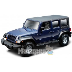 Автомодель Bburago - JEEP WRANGLER UNLIMITED RUBICON