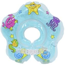 Круг надувной MS 0128 для купания детей на липучке (100)