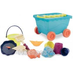 Набор для игры с песком и водой - ТЕЛЕЖКА МОРЕ