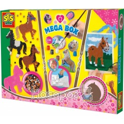 Набор для творчества Ses creative Веселые лошадки