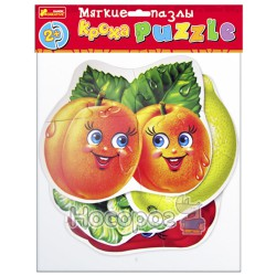 """Мягкие пазлы""""Овощи-фрукты"""""""