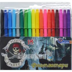 Фломастеры JosefOtten 828AE-18 Пираты