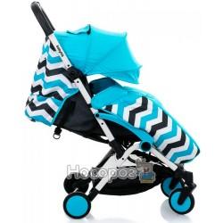 Коляска прогулочная Babyhit Amber Plus - Blue Black 30164