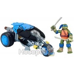 """Игровой набор TMNT - Мотоцикл """"Стелс"""" с фигуркой серии Черепашки-ниндзя рестайлинг"""