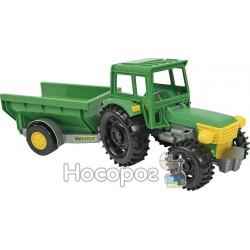Трактор Фермер с прицепом Wader 39348