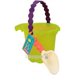 Набор для игры с песком и водой Battat Ведерко с лопатками BX1432Z