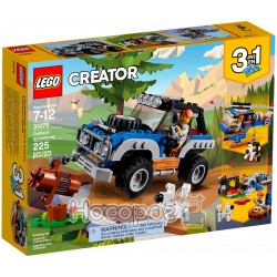 Конструктор LEGO Пригоди в глушині 31075