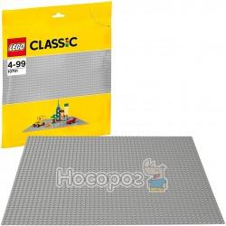 Базовая пластина серого цвета LEGO 10701