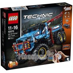 Полноприводный шестиколесный тягач LEGO 42070