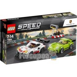 Конструктор LEGO Автомобили Porsche 911 RSR и 911 Turbo 75888