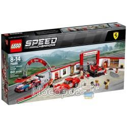 Конструктор LEGO Унікальний гараж Феррарі 75889
