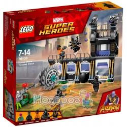 Конструктор LEGO Атака разрушителя КОРВУС Глэйв 76103