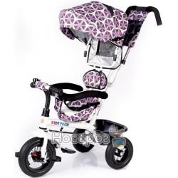 Велосипед трехколесный Babyhit Kids Tour - White Violet