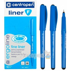 Лінер Centropen 4621 чорний