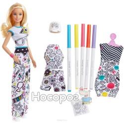 """Набор Barbie x Crayola """"Раскраска одежды"""" FPH90"""