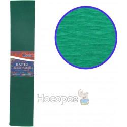 Креп-бумага 55%, темно-зеленая 80-40/10-55
