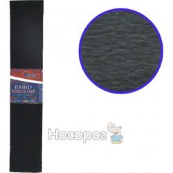 Креп-бумага 55%, черная 80-19/10-55