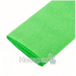 Крепированная бумага, 55% растяжимость, салатовый