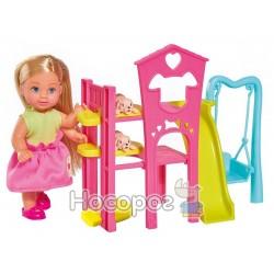 """Кукольный набор Эви Simba """"Парк развлечений для животных"""""""