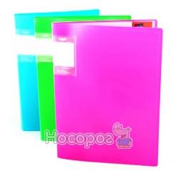 Папка пластиковая на 10 файлов Eco-Eagle 1021-00 Neon