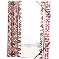 Папка на резинку с принтом Вишиванка Eco-Eagle 3005P-VYSH
