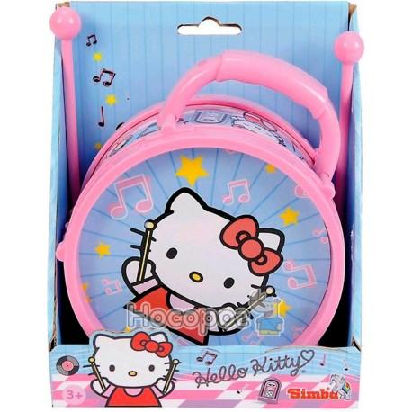 """Фото Музыкальный инструмент SIMBA """"Барабан Hello Kitty"""""""