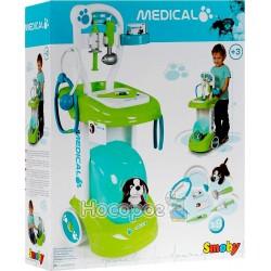"""Тележка Smoby """"Ветеринарная помощь"""" с собачкой"""