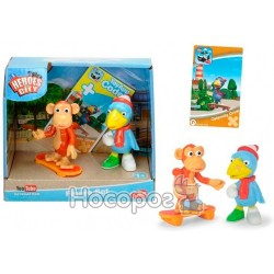 "Набор фигурок Dickie Toys ""Герои города. Ворона и обезьяна"" с аксес."
