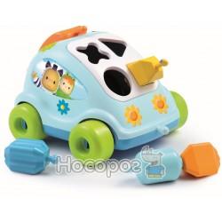"""Игрушка для развития Cotoons """"Машинка"""" Smoby с формами"""