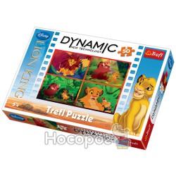 35192 Пазл 50 Dynamic - Король Лев