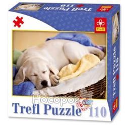 """85004 Пазл """"110 ел."""" - Спящая собака"""