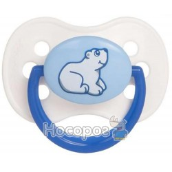 Пустышка латексная круглая Canpol babies 0-6 м-цев Animals