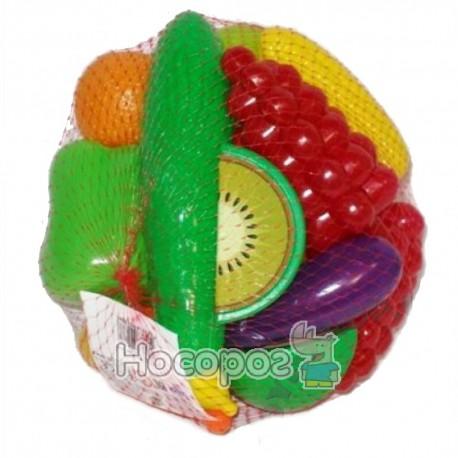 Набор Фрукты-овощи - 24 предметов 518