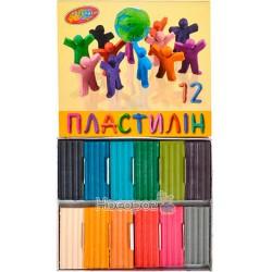 Пластилин Колорит П-12215 гр (88)