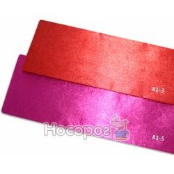 Креп-бумага Fantasy 20% розовый металлик 81-5 / 10